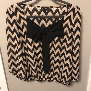 A. Byer Blouse with Bow Detail